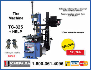 NEW Tire Changer/ Tire Machine TC-325+HELP with WARRANTY