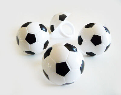 24 Soccer 2-Dimensional Cupcake Rings Party Favors Decorations Toppers Sports - Soccer Cupcake Toppers