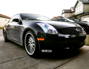 2006 Infiniti G35 Coupe 6 Spd Manual REV UP EDITION Low KM