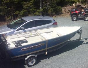 14.6 ft aluminum boat