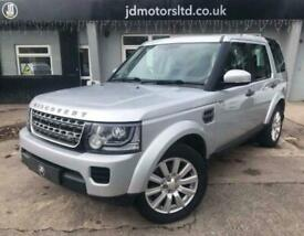 2014 2014 (14) LAND ROVER DISCOVERY SDV6 GS AUTO 7 SEATER - SILVER SDV6 GS 3 Aut
