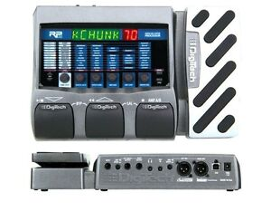 Digitech RP355 multi effects with power supply.