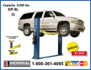 TWO POST CAR LIFTS AUTO HOIST STARTING AT $1889 9,000 lbs