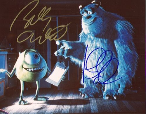 2001 SIGNED MOVIE PHOTO *MONSTERS INC* BILLY CRYSTAL AUTOGRAPHED REPRINT