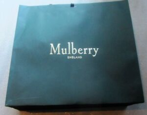 "AUTHENTIC MULBERRY LARGE 19.5""X17.5""X8"" GIFT BAG NEW"