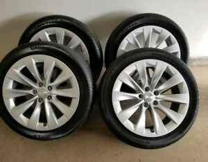 """4 New Tesla Model X 20"""" Wheels and Tires"""