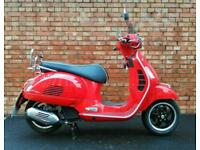 2019 Vespa GTS 125, ONLY 238 miles with fly screen