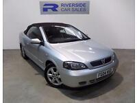 2004 Vauxhall Astra 2.2 16V 2dr 2 door Convertible