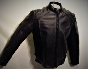 Manteau MOTO Homme 2XLARGE Polyester-Cuir Doublure 165$ AD