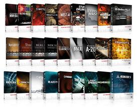 VARIOUS AUDIO SOFTWARES (MAC or PC)