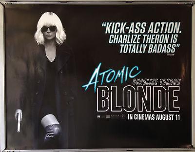 Cinema Poster: ATOMIC BLONDE 2017 (Advance Quad) Charlize Theron James McAvoy