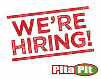 Pita Pit Now Hiring ALL LOCATIONS