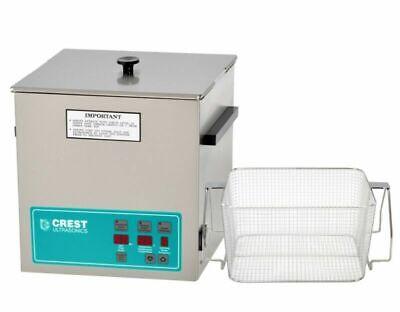 Crest Powersonic 3.25 Gal Digital Ultrasonic Cleaner Wbasket P1100d-45