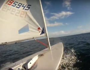 2007 Laser Radial Sailboat