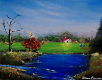Learn how to Paint this beautiful Landscape