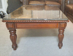 **ALMOST LIKE NEW TWO TABLES** **MARBLE*** GOOD DEAL MUST GO!