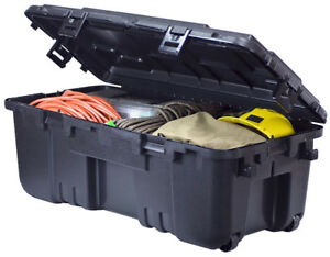 Large Storage Trunk 3.7 cubic feet with wheels