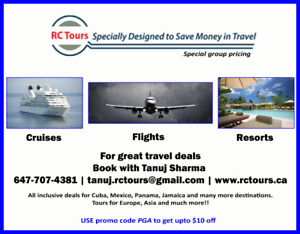 Travel Agency!! - air tickets, cruises and vacation packages