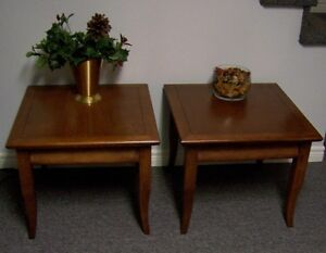 Pair of Matching End Tables