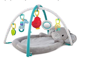 Enchanted elephant activity gym