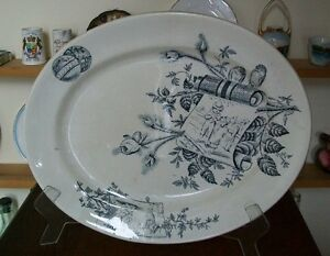 Antique Platter 1883