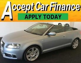 Audi A3 Cabriolet 2.0TDI ( 140ps ) Tronic 2013MY S Line FROM £51 PER WEEK !