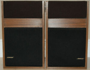 Pair of Original Bose 301 Speakers