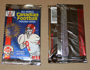 1991 AW Canadian Football League pack