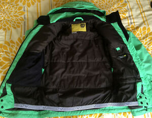 Drage Snowboarding Jacket ** Lime Green London Ontario image 2