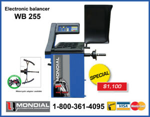 Wheel Balancer New from $1100 Tire changer machine &  Warranty