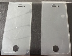 2 SCREEN PROTECTORS FOR IPHONE 4S