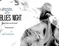 Blues Night at the Unik - Thursdays