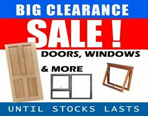 ▬ι═══════ﺤ STOCK CLEARANCE WINDOW AND DOOR HUGE SALE -═══════ι▬