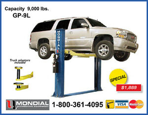 NEW Car Lift 9000lbs 2 Post, Auto Hoist, 2 Post Lift WARRANTY