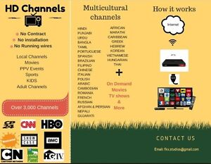 HD Live Channels Movies on Demand & more