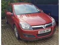 2006 Vauxhall/Opel Astra 1.6i 16v 2006MY Design
