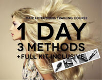 HAIR EXTENSION MASTER TRAINING COURSE - GUELPH, ON - 10/14/17