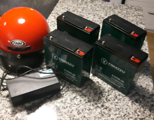 Brand new ebike batteries/ charger lot