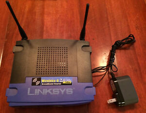 Router Linksys Wireless-G, modèle WRT54G V8