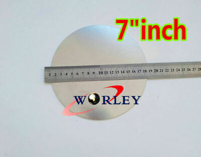 7 Inch Dia. 180mm Aluminum Disc Circle Blank Plate Flat Sheet Round 2mm Thick