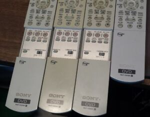 4 Sony  RMT-205A remotes