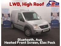 2011 11 FORD TRANSIT CONNECT 1.8 T230 TREND HR 90 BHP BLUETOOTH CONNECTIVITY, R