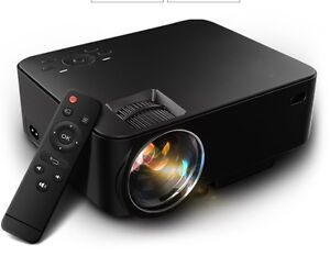 POWERFUL-LOADED 1080P Mini Home Theater Video Projector NEW!