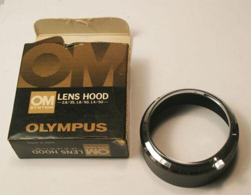 Olympus OM System Metal Lens Hood 50 1.4, 50 1.8, 35 2.8 Pristine