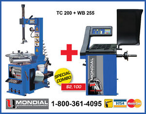 NEW Tire Changer and balancing machine combo with WARRANTY