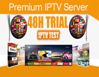 IPTV 48 hrs Free Trial Test +6000 Ch; US, CANADA, EUROPE, LATINO