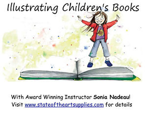 Illustrating Children's Books~ Artists & Writers Look! Kitchener / Waterloo Kitchener Area image 1