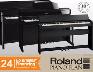 Roland Piano Year End Event - 24-month 0% Financing (AOC)