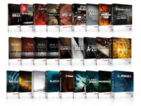VARIOUS KONTAKT v5 INSTRUMENTS for MAC or PC