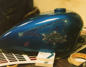 Motorcycle Paint and Air Brushing